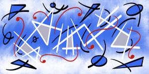 Creativity Blue