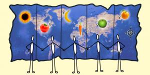 World Modals Map