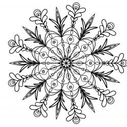 Mandala_Floral_A5